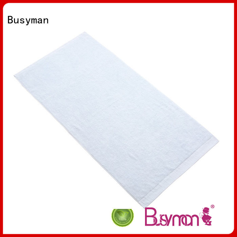 Busyman antibacterial custom bath towel great for kitchen