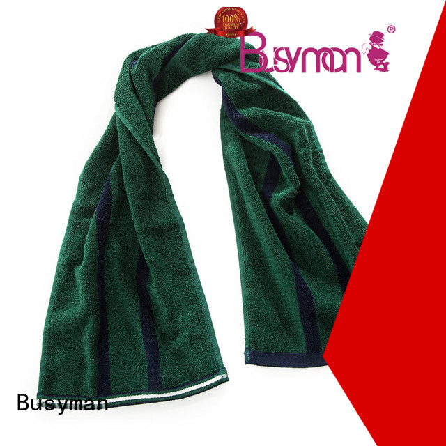 soft bamboo sports towel widely applied for sports