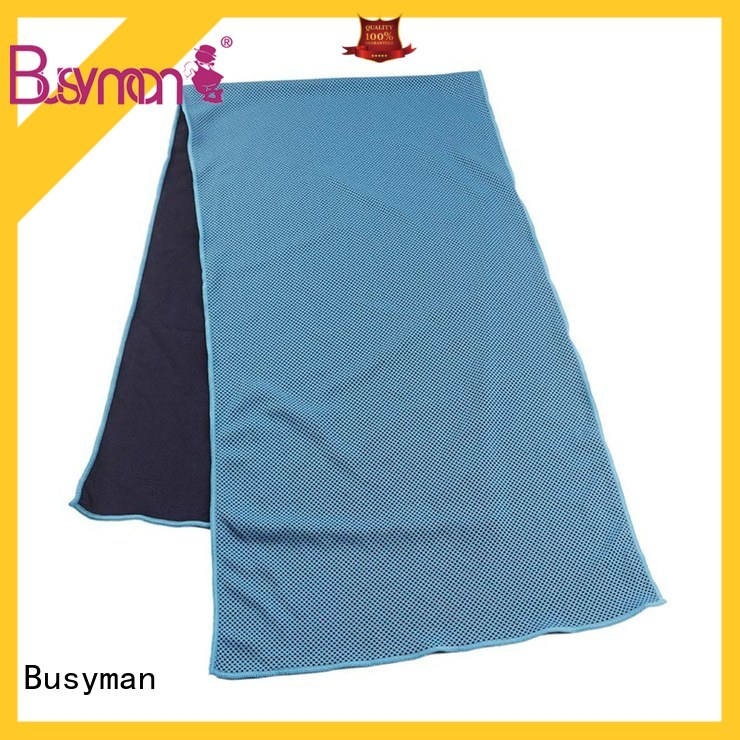 Busyman economical custom cooling towel running