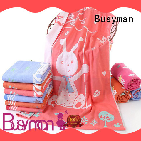 Busyman bath towel 100% cotton ideal for sports