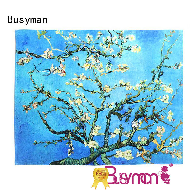 Busyman hand towel printing ideal for sports