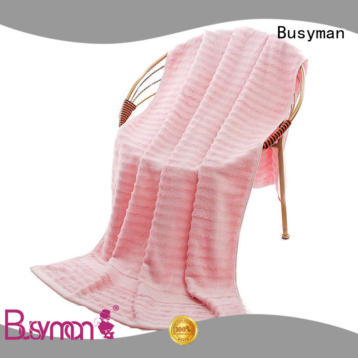 Busyman skin-friendly swimming towel sports