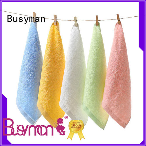Busyman personalized hand towels great for Baby washing face or hands