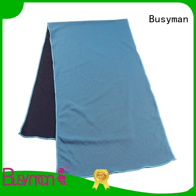 Busyman cooling towel great for exercise