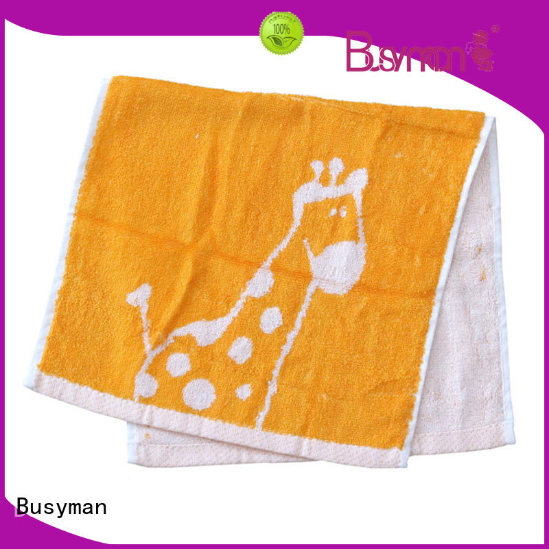 Busyman jacquard hand towel needed for home use