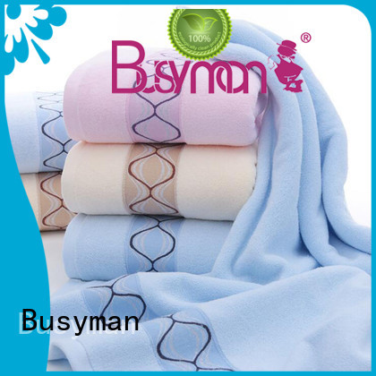 Busyman soft personalized hand towels best choice for home