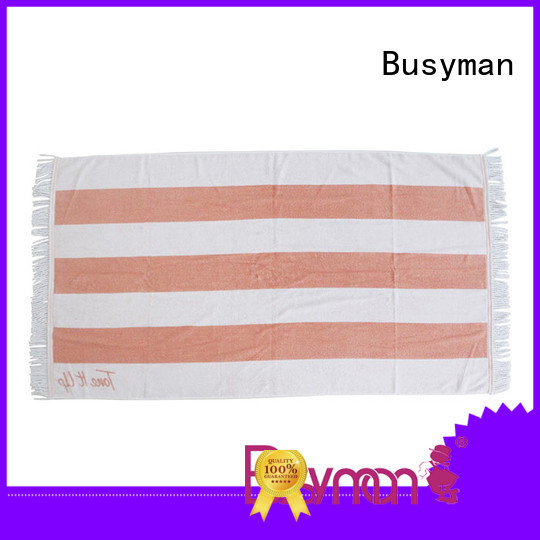 Busyman good design best cotton bath towels widely applied for