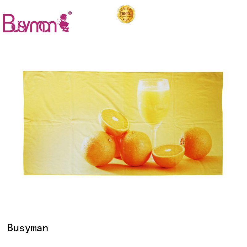Busyman round beach towels very useful for home